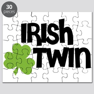 Irish Twin Shamrock Puzzle