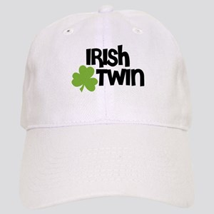 Irish Twin Shamrock Baseball Cap