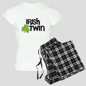 Irish Twin Shamrock Pajamas