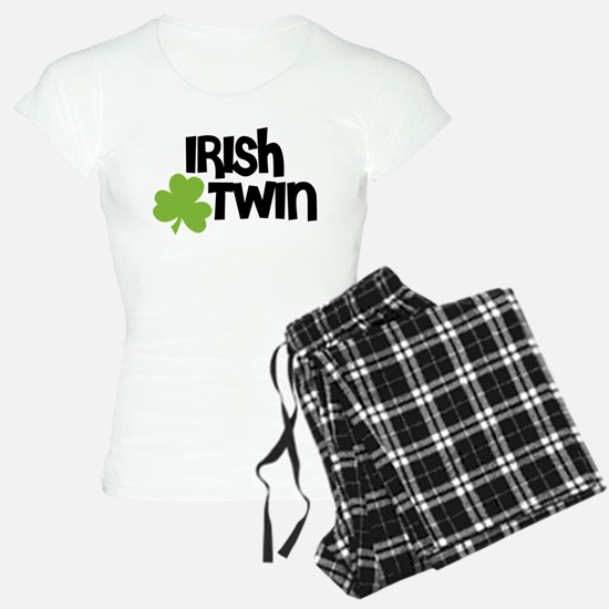 Irish Twin Shamrock Pajamas