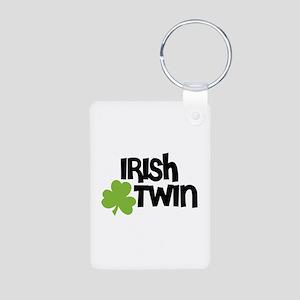 Irish Twin Shamrock Keychains