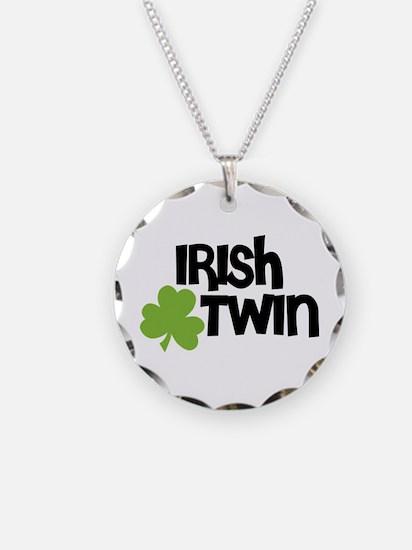 Irish Twin Shamrock Necklace
