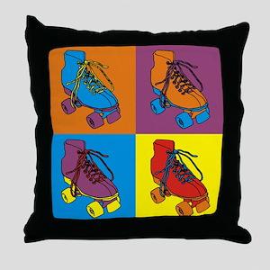 warholSKATES Throw Pillow