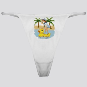 Ducky and Pixie Classic Thong