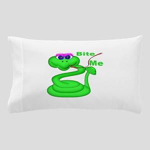Bite Me Snake Pillow Case