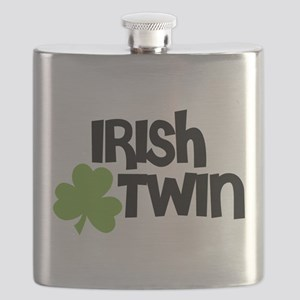 Irish Twin Shamrock Flask