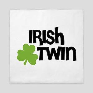 Irish Twin Shamrock Queen Duvet