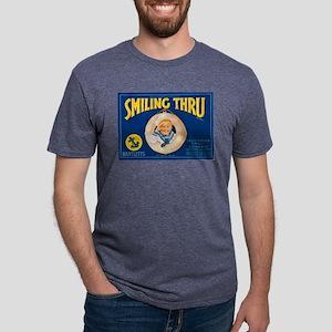 Smiling Sailor Boy Mens Tri-blend T-Shirt