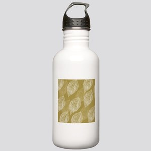 Gold Leaves Water Bottle
