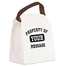 Personalized PROPERTY OF... Canvas Lunch Bag
