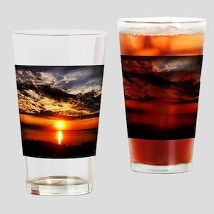 Sunrise of Fire Drinking Glass