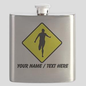 Runner Crossing Flask