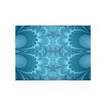 Blue Petals 5'x7'Area Rug