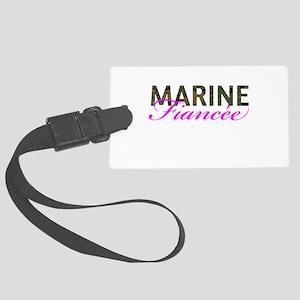 Marine Fiancee Woodland Large Luggage Tag