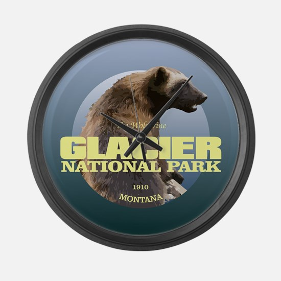 Glacier NP Large Wall Clock