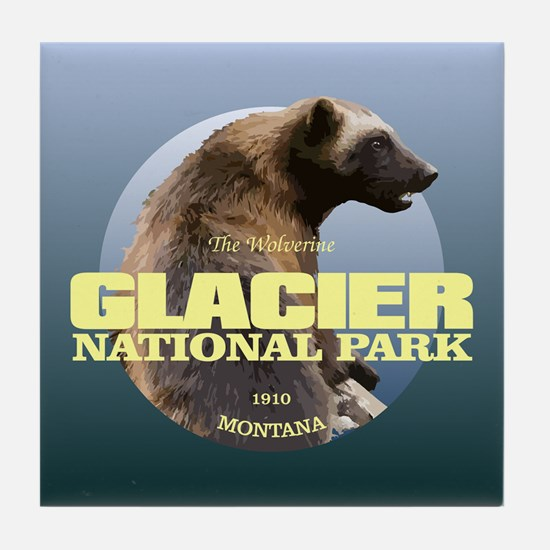 Glacier Np Tile Coaster