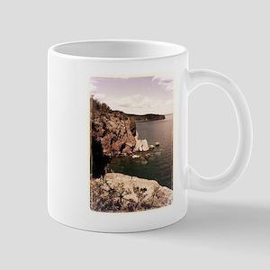 Lake Superior Cliffside Mug