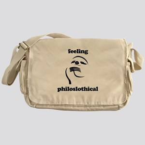 Feeling Philoslothical Messenger Bag