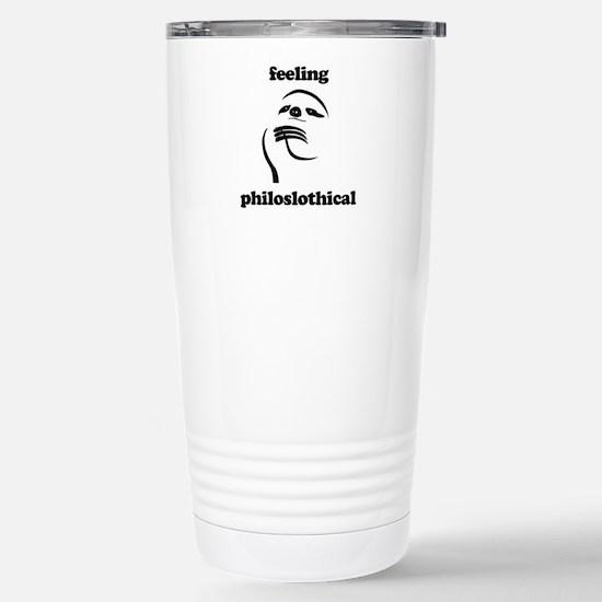 Feeling Philoslothical Travel Mug