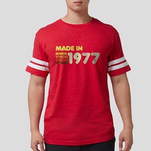 Made In 1977 Mens Football Shirt