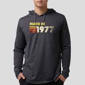 Made In 1977 Mens Hooded Shirt