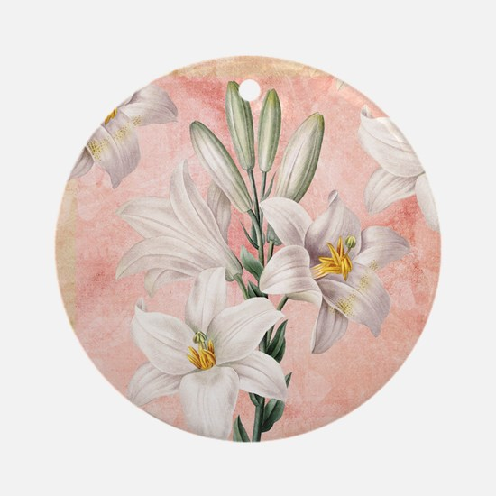Lilies Ornament (Round)