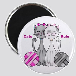 Cats Rule Magnet