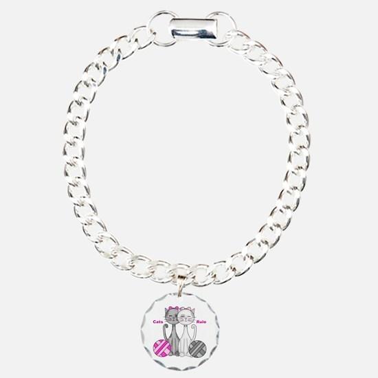 Cats Rule Bracelet