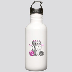Cats Rule Stainless Water Bottle 1.0L