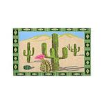 Desert Cactus 3'x5' Area Rug