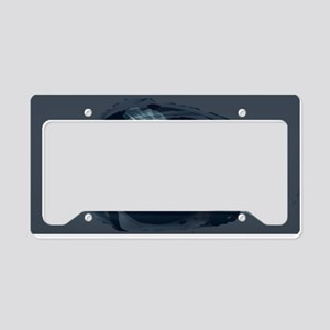 Fairy and rose License Plate Holder
