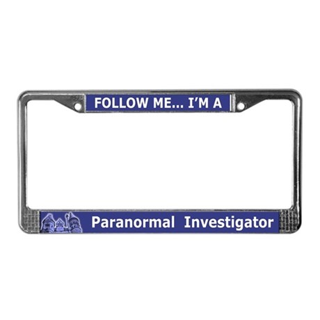 Haunted Mansion Paranormal Investigator License Pl
