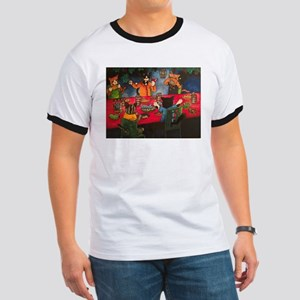 Night Feast Cats T-Shirt