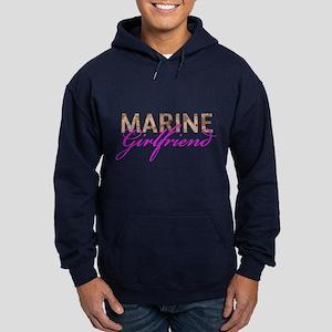 Marine Girlfriend Desert Hoodie (dark)