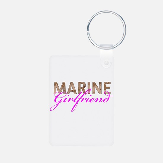 Marine Girlfriend Desert Keychains