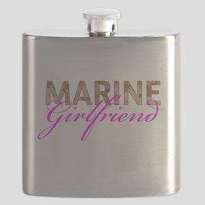 Marine Girlfriend Desert Flask