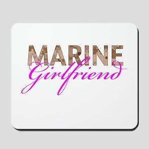 Marine Girlfriend Desert Mousepad