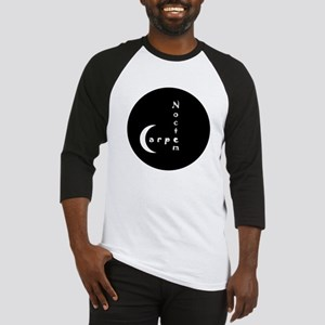 Carpe Noctem - circular edges Baseball Jersey