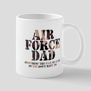 AF Dad Answering Call Mug