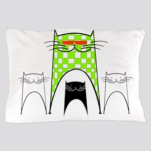 Happy Cats Pillow Case