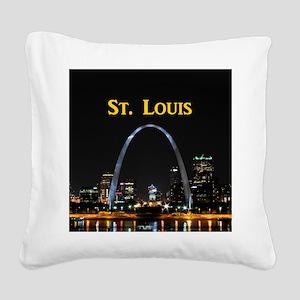 St. Louis Square Canvas Pillow