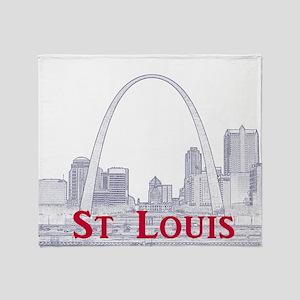 St. Louis Throw Blanket