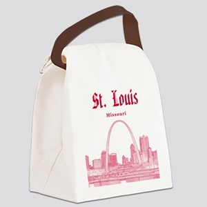 St. Louis Canvas Lunch Bag