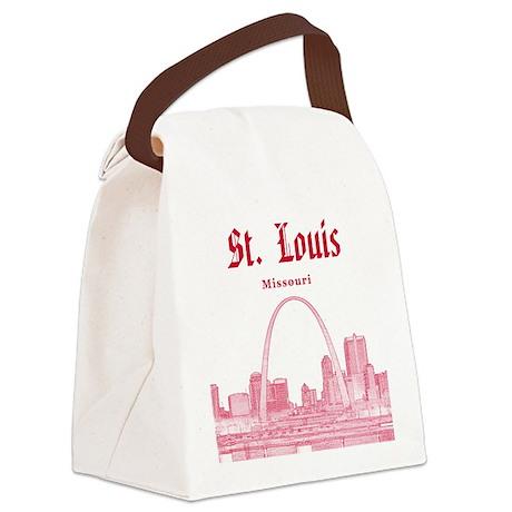 St. Louis Canvas Lunch Bag