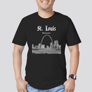 St. Louis Men's Fitted T-Shirt (dark)