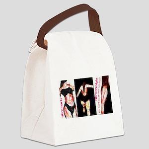 Fibro Hurts Trio Canvas Lunch Bag