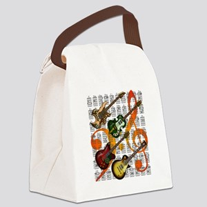 Guitar and Chord 07 Canvas Lunch Bag