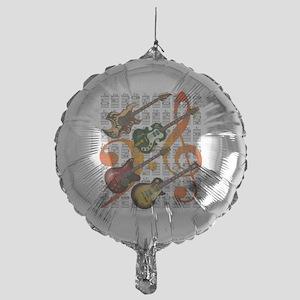 Guitar and Chord 07 Mylar Balloon