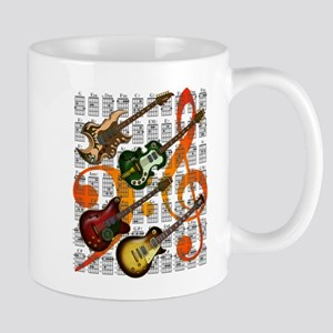 Guitar and Chord 07 Mug