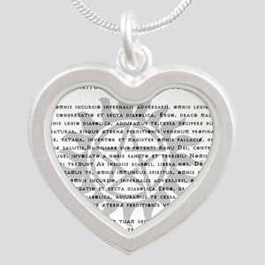 back3-1 Silver Heart Necklace